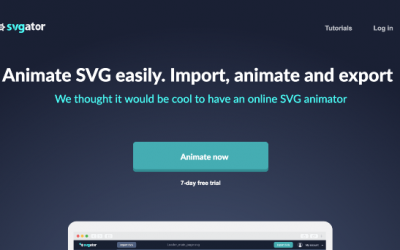 Animating SVG Files With an easy to use web platform – SVGator