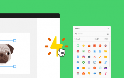 Icons8 for elearning development